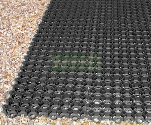 Recycled plastic DIY base kits - 150 tonnes per square metre