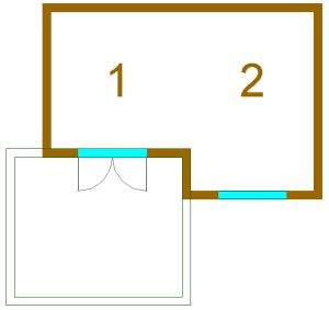 Floor plan and sizes