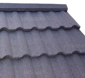 LOG CABINS - Granular steel roof tiles