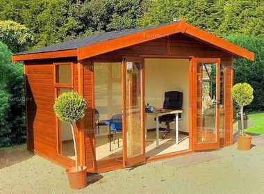 Malvern Studio Apex Summerhouse - Double Glazed