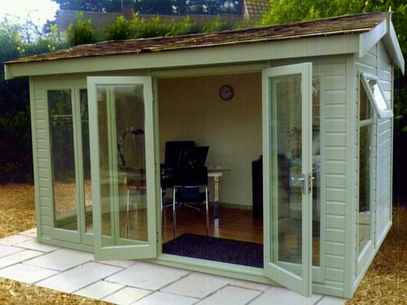 Malvern Studio Pavillion Summerhouse - Double Glazed