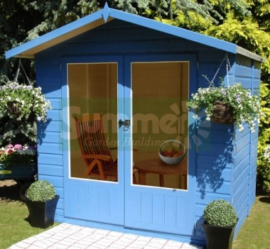 Shire Avance Summerhouse - Apex Roof, Double Door