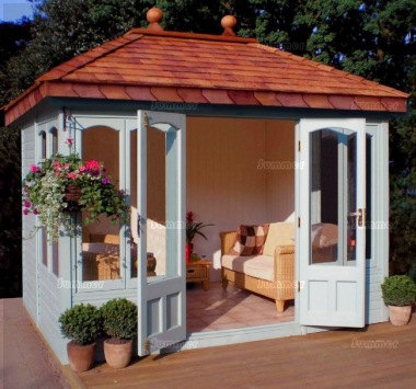 Malvern Cottage Ashton Summerhouse - Large Panes