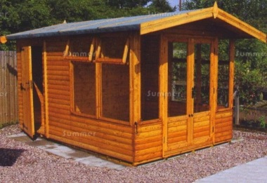 Malvern Newland - Summerhouse and Shed