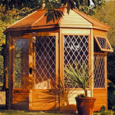 Malvern Gazebo Octagonal Summerhouse - Leaded