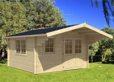 Apex Double Door Log Cabin 449 - Bespoke, Double Glazed