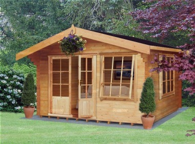 Shire Hale Log Cabin - Double Door