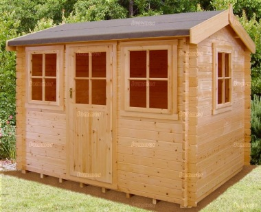 Shire Hemsted Log Cabin - Single Door