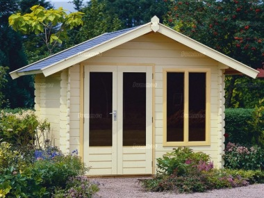 Apex Double Door Log Cabin 321 - Double Glazed