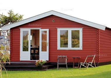 Apex Double Door Log Cabin 661 - Double Glazed