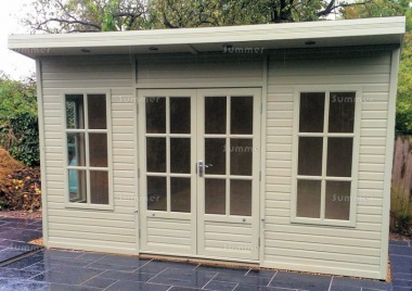 Malvern Arley Pent Summerhouse - Double Glazed, Georgian