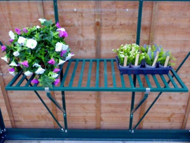 Green Slatted 1 Tier Staging 351 - No Legs