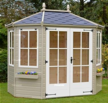 Georgian Octagonal Summerhouse 955 - Painted